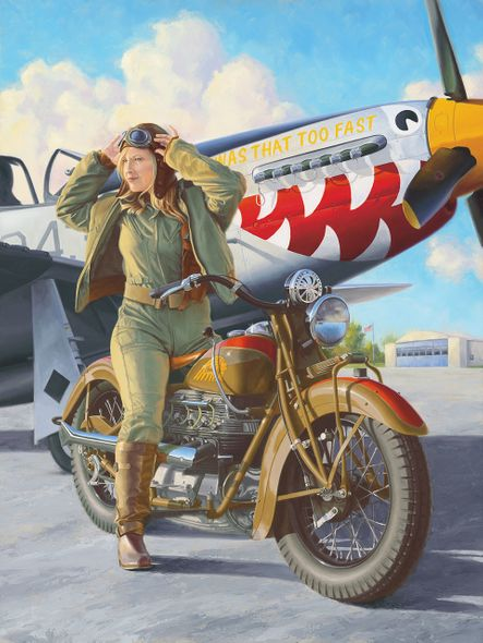"""Brian Loker Limited Edition Museum Quality Giclée: """"Pretty Fast"""""""