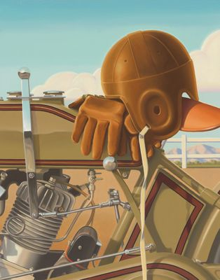 """Brian Loker Limited Edition Museum Quality Giclée: """"Trackside"""""""