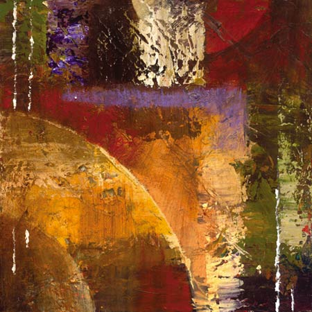 """Bruce Marion Signed and Numbered Limited Edition Giclée on Somerset Velvet with enhancement Paper:""""Textura Rising #2"""""""