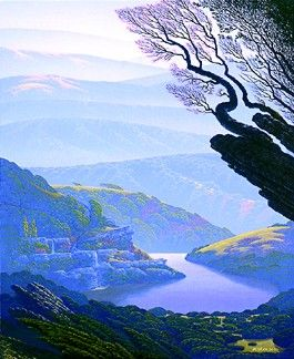 """Bruce Ricker Handsigned and Numbered Limited Edition Serigraph:""""Lake of Dreams"""""""