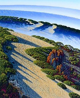 "Bruce Ricker Handsigned & Numbered Limited Edition Serigraph:""Mountain Meadows """
