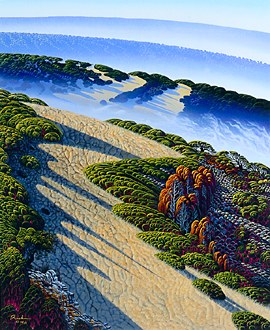 """Bruce Ricker Handsigned & Numbered Limited Edition Serigraph:""""Mountain Meadows """""""
