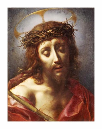 "Carlo Dolci Fine Art Open Edition Giclée:""Christ as the Man of Sorrows"""