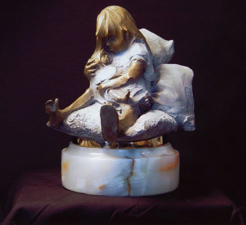 "Chapel Limited Edition Sculpture :"" My New Brother """