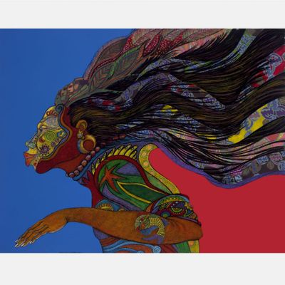 """Charles Bibbs Hand Signed and Numbered Limited Edition: """"Adorning Glory"""""""