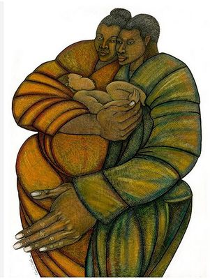 """Charles Bibbs Hand Signed and Numbered Limited Edition AP Print:""""New Life"""""""