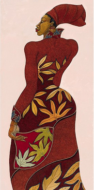"""Charles Bibbs Hand Signed and Numbered Limited Edition:""""Autumn"""""""
