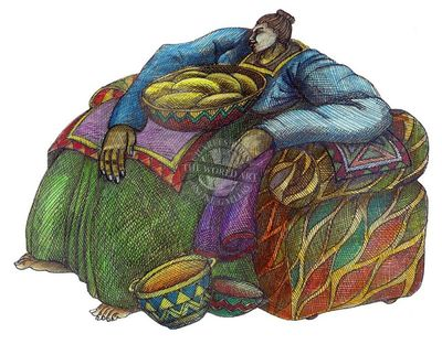 """Charles Bibbs Hand Signed and Numbered Limited Edition: """"Big Mama's Chair #2"""""""