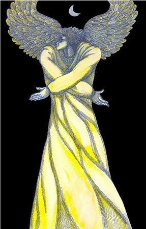 "Charles Bibbs Hand Signed and Numbered Limited Edition: ""Angel Of Light"""