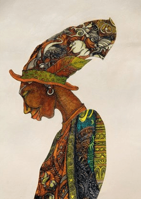 """Charles Bibbs HAnd Signed and Numbered Limited Edition Giclee Print:""""The Earth Keeper"""""""