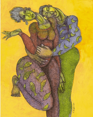 """Charles Bibbs Hand Signed and Numbered Limited Edition:""""I Feel You"""""""
