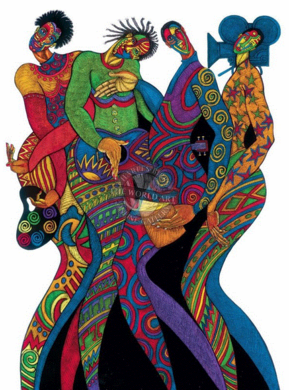 """Charles Bibbs Hand Signed and Numbered Limited Edition: """"In Living Color"""""""