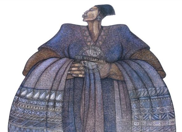 """Charles Bibbs Hand Signed and Numbered Limited Edition: """"Jomandi"""""""