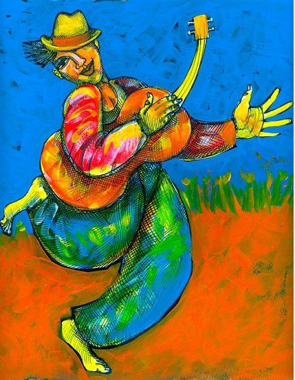 """Charles Bibbs Hand Signed and Numbered Limited Edition:""""Joy Luck Girl"""""""