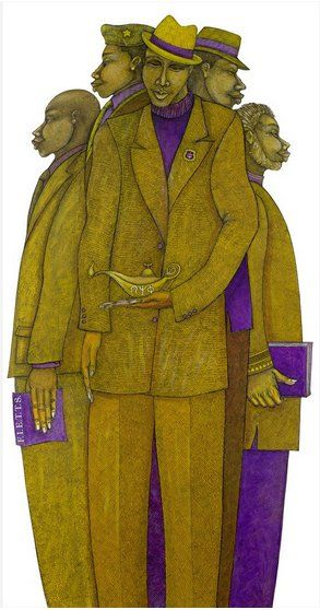 """Charles Bibbs Hand Signed and Numbered Limited Edition:""""Keepers Of The Flame"""""""