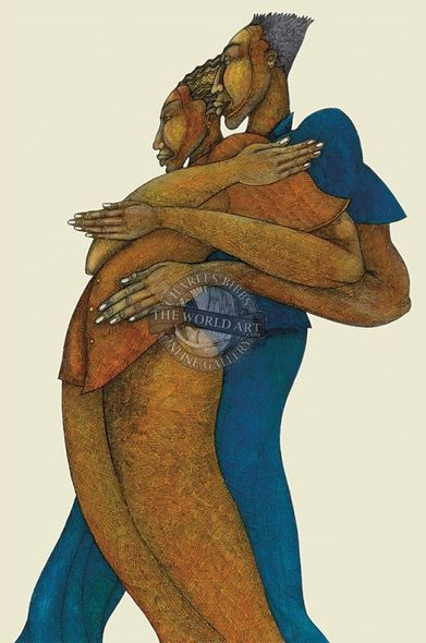 """Charles Bibbs Hand Signed and Numbered Limited Edition: """"Love Dance"""""""