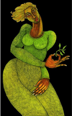 """Charles Bibbs Hand Signed and Numbered Limited Edition:""""Love Of Life """""""