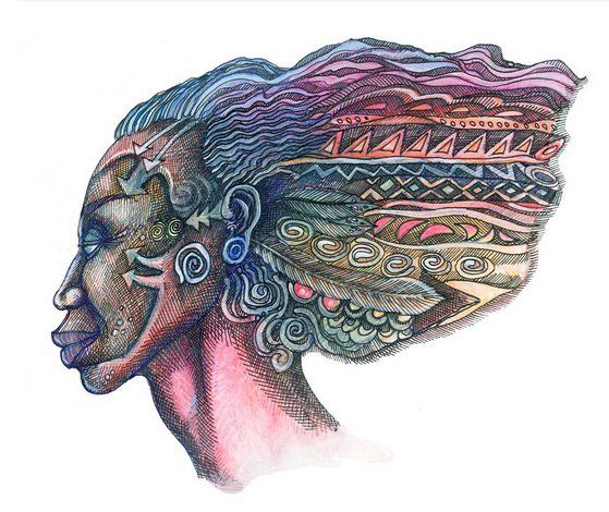 """Charles Bibbs Hand Signed and Numbered Limited Edition Print:""""Windface Series 2"""""""