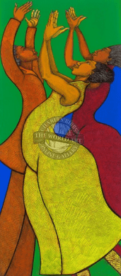 """Charles Bibbs Hand Signed and Numbered Limited Edition: """"Rejoice"""""""