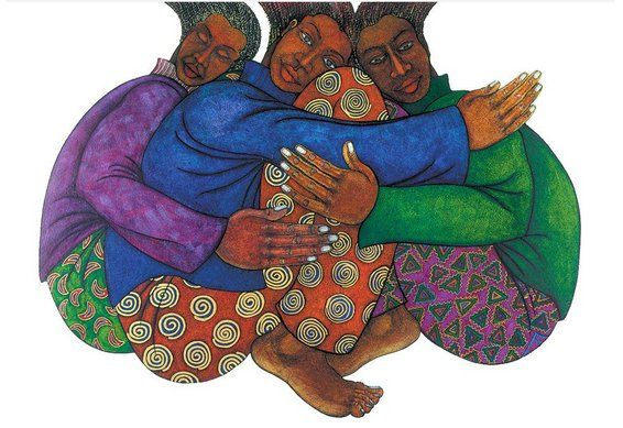 "Charles Bibbs Hand Signed and Numbered Limited Edition:""Sistahood"""