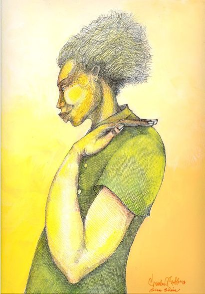 """Charles Bibbs Hand Signed and Numbered Limited Edition:""""Sun-Shine"""""""