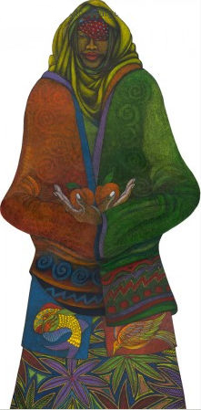 """Charles Bibbs Hand Signed and Numbered Limited Edition:""""The Fruit Bearer"""""""