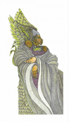 """Charles Bibbs Hand Signed and Numbered Limited Edition:""""Throne Of Grace"""""""