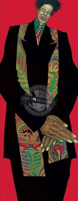 """Charles Bibbs Hand Signed and Numbered Limited Edition: """"Urban Knight"""""""