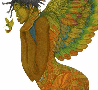 "Charles Bibbs Hand Signed and Numbered Limited Edition:""Wings Of Life"""