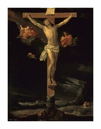 "Charles Le Brun Fine Art Open Edition Giclée:""The Crucifixion"""