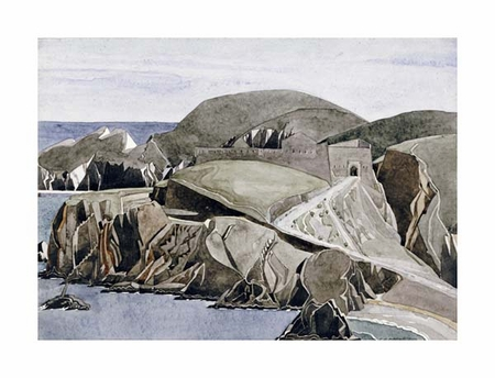 "Charles Rennie Mackintosh Fine Art Open Edition Giclée:""The Road Through the Rocks"""
