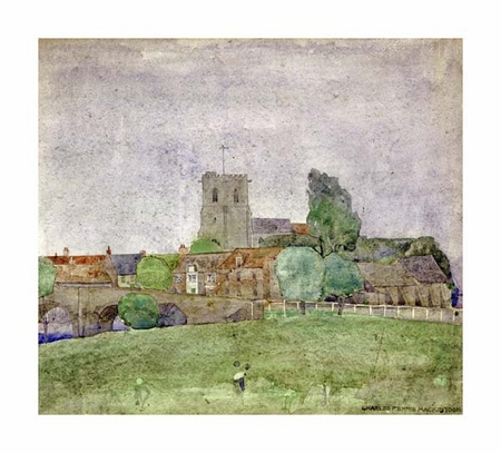 "Charles Rennie Mackintosh Fine Art Open Edition Giclée:""Wareham, Dorset"""
