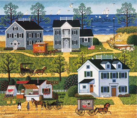 """Charles Wysocki Legacy Collection Limited Edition Print:""""Gull's Nest"""""""
