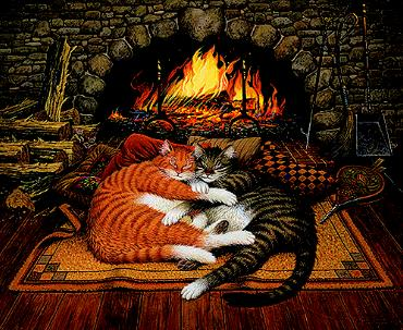 """Charles Wysocki Limited Edition Print: """"All Burned Out"""""""