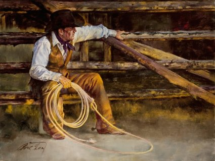 """Chris Owen Handsigned and Numbered Limited Edition Giclee Print:""""Restin' """""""
