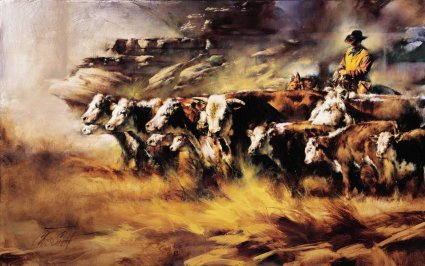 """Chris Owen Handsigned & Numbered Limited Edition Print:""""Almost Home"""""""