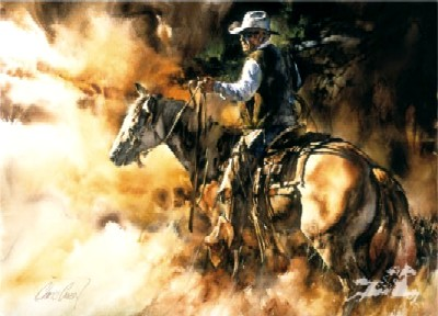 """Chris Owen Handsigned & Numbered Limited Edition Print: """"Keeping The Grit"""""""