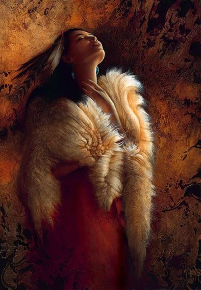 """Lee Bogle Artist Signed and Numbered Limited Edition Canvas Giclee:""""Stirrings of the Soul"""""""