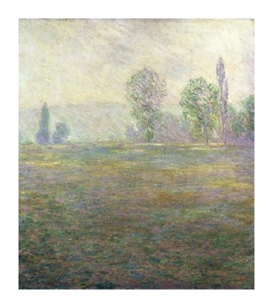 """Claude Monet Fine Art Open Edition Giclée:""""A Meadow in Giverny"""""""