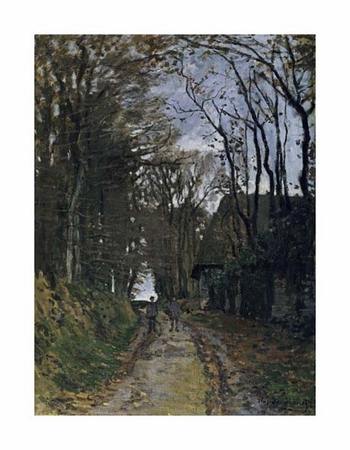 "Claude Monet Fine Art Open Edition Giclée:""A Normandy Path"""