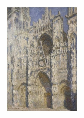 "Claude Monet Fine Art Open Edition Giclée:""Cathedral of Rouen, Afternoon"""
