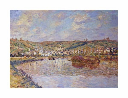 "Claude Monet Fine Art Open Edition Giclée:""End of the Afternoon, Vetheuil"""
