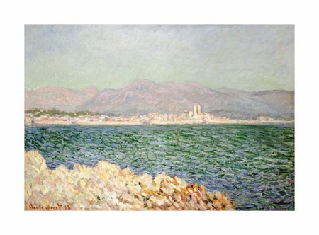 "Claude Monet Fine Art Open Edition Giclée:""Golfe D'Antibes"""