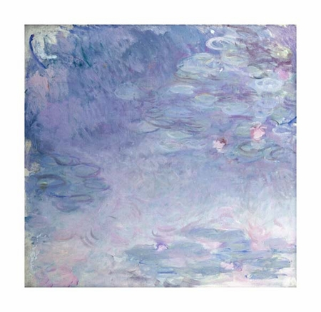 "Claude Monet Fine Art Open Edition Giclée:""Pale Water Lilies"""
