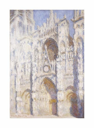 """Claude Monet Fine Art Open Edition Giclée:""""Rouen Cathedral in the Afternoon (The Gate in Full Sun)"""""""