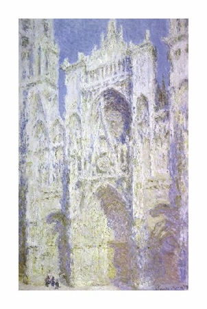 "Claude Monet Fine Art Open Edition Giclée:""Rouen Cathedral: West Facade, Sunlight"""