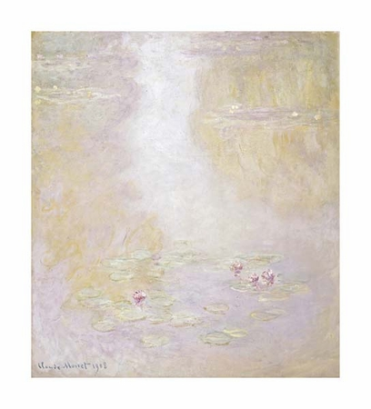 "Claude Monet Fine Art Open Edition Giclée:""Water Lilies, Giverny"""