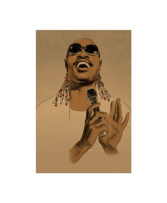 """Clifford Faust Limited Edition Pencil Signed Artist's Proof Giclee:""""James Brown"""""""