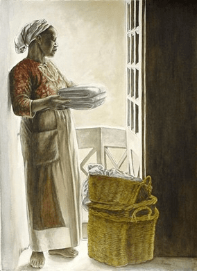 "Consuelo Gamboa Fine Art Print:""Lady by the Window"""