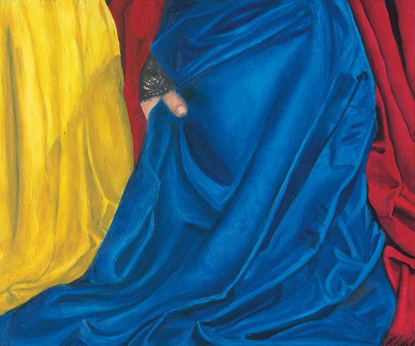 """Cris Man Limited Edition Museum Quality Giclée: """"Mary and Martha of Bethany"""""""